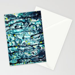Gooey Space Station Stationery Cards