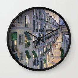 Carrer de Joaquin Costa - Barcelona Wall Clock