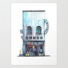 Tokyo storefront #02 Art Print