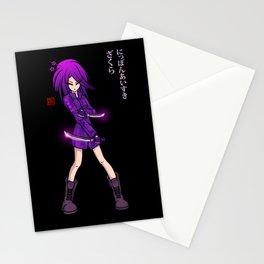 Zakura Stationery Cards