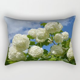 Granny's Snowballs Rectangular Pillow