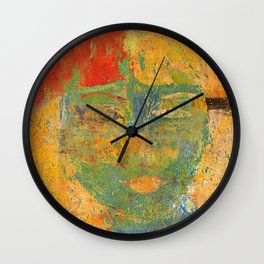 Venus's Woman 2 Wall Clock