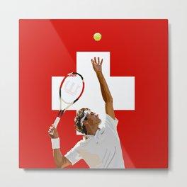 Roger Federer | Tennis Metal Print