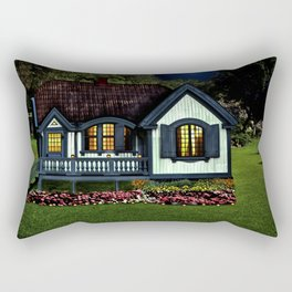 A Lovely Place to Live Rectangular Pillow