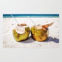 Coconut Rum Rug