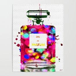 Eau de Parfum Bubbles Poster