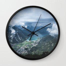 Alpine Lake // Landscape Photography Wall Clock
