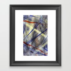 Ink Explosion  Framed Art Print