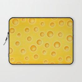 Swiss Cheese Texture Pattern Laptop Sleeve