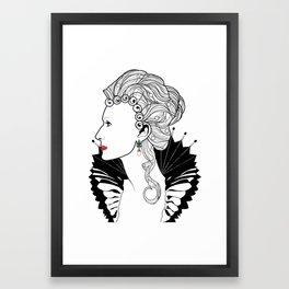 Elizabeth I. Framed Art Print