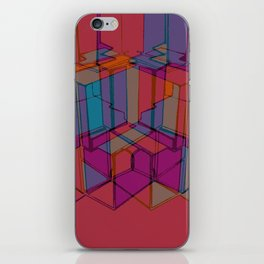 Cube Geometric I iPhone Skin