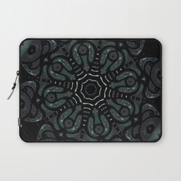 Dark Mandala #4 Laptop Sleeve