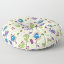 Sew Happy Floor Pillow