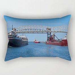 Ojibway, CSS Assinboine, Hon James Oberstar Rectangular Pillow