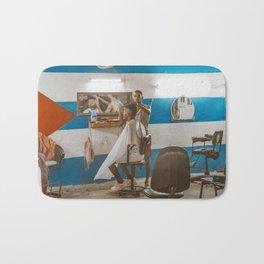 Cuban Barber Shop Bath Mat