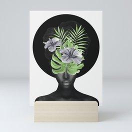 Tropical Girl Mini Art Print