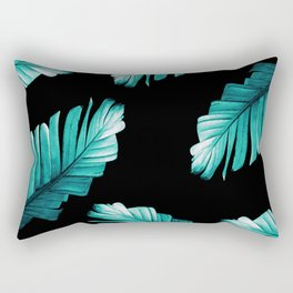 Tropical Banana Leaves Dream #6 #foliage #decor #art #society6 Rectangular Pillow