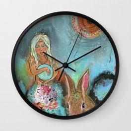 Goddess Gaia Wall Clock