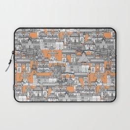 Paris toile cantaloupe Laptop Sleeve