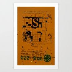 sedimenti 154 Art Print