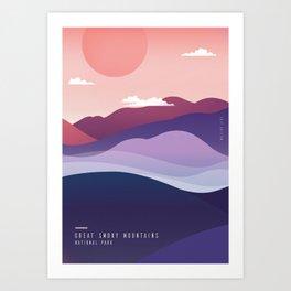 ※ Great Smoky Mountains • National Park ※ Art Print
