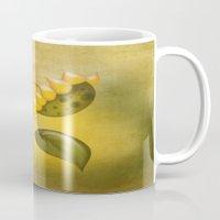 sunflower Mugs featuring Sunflower by flamenco72