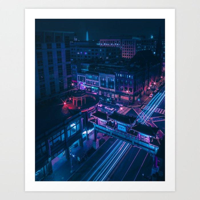 DC Chinatown Art Print