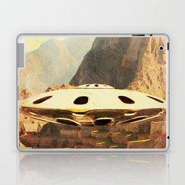 Flying Saucer - Machu Picchu Laptop & iPad Skin