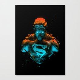 Man Of Steel 3 Canvas Print