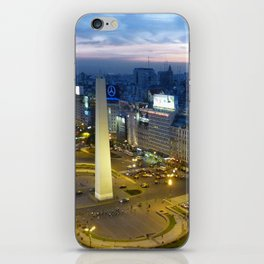Buenos Aires Obelisco iPhone Skin