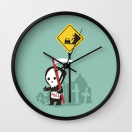 Highway to hell Wall Clock