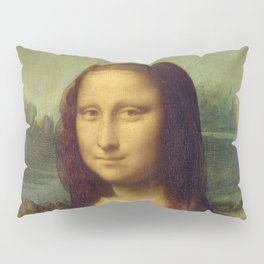 Mona Lisa by Leonardo da Vinci Pillow Sham