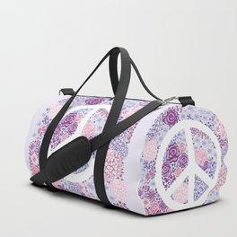 Peace and love Duffle Bag