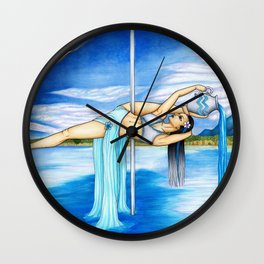 Pole Stars - AQUARIUS Wall Clock