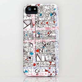2002 - Thoughts In Rotterdam (High Res) iPhone Case