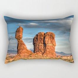 """""""Balanced Glow"""" Rectangular Pillow"""