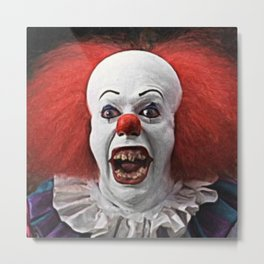 Pennywise the Clown Metal Print