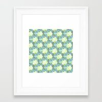 pinapple Framed Art Prints featuring Pinapple x Ibisco by Silbox