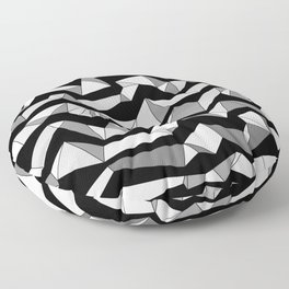 Polynoise Lowpoly Floor Pillow