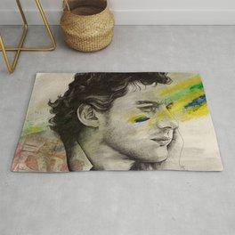Rei Do Brasil: Tribute to Ayrton Senna da Silva Rug