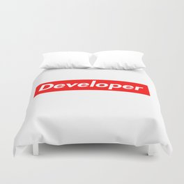 Developer - Programmer supreme Duvet Cover