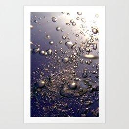 Bubbles Phone Art Print