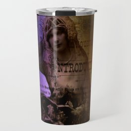 Mixed Media Bride Vintage Inspired By Moon Willow Designs  Travel Mug