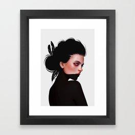 Olyv Framed Art Print