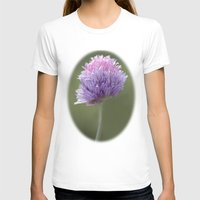 clover T-shirts featuring Clover by Fran Walding