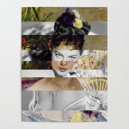 Berthe Morisot's At the Ball & Ava Gardner Poster