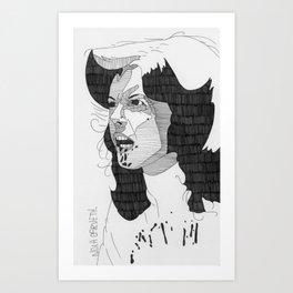 Nola Carveth. Art Print