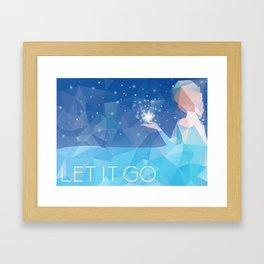Frozen: Let it Go Framed Art Print