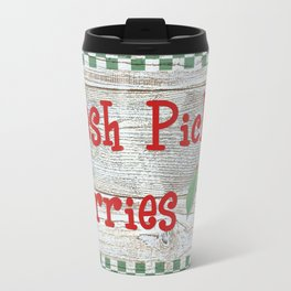Fresh Picked Cherries Travel Mug