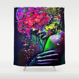 Midnight Ache Shower Curtain